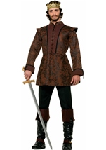 Deluxe Medieval King Men Coat