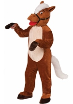 Plush Henry The Horse Men Mascot Costume