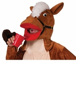 Plush Henry The Horse Men Mascot Halloween Costume
