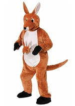 Adult Jumpin Jenny The Kangaroo Mascot Costume