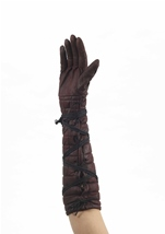 Medieval Fantasy Warrior Women Gloves
