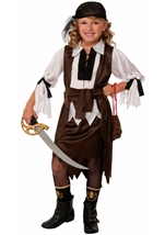 Pirate Sweetie Girls Pirate Costume