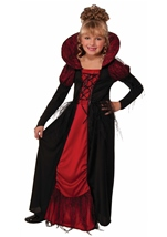 Vampiress Queen Girls Halloween Costume