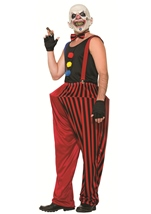 Clown Wicked Twisted Men Halloween Costume