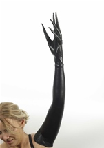 Twisted Long Fingered Gloves