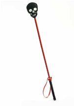 Black Skull Riding Crop