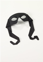Hero Adult Mask Black