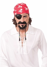 Pirate Moustache Beard And Goatee