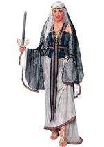 Lady Of The Lake Women Medieval Costume