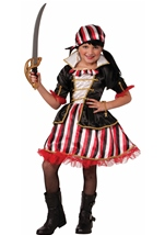Sweet and Cute Girls Pirate Costume