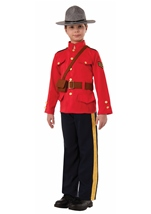 Police Boys Mountie Halloween Costume