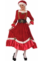 Santa Mrs Claus Woman Christmas Costume