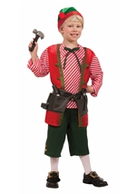 Toy Maker Elf Boys Christmas Costume