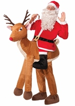 Santa Claus Ride a Reindeer Adult Costume