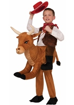 Ride a Bull Kids Halloween Costume