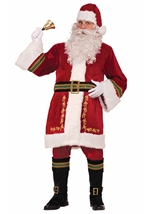 Santa Claus Men Prestige Christmas Costume