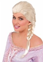 Snow Queen Princess Blonde Women Wig
