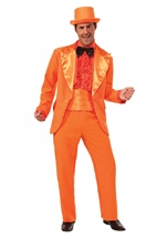 Orange Prom Tuxedo Men Costume