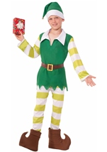 Elf Santas Helper Boys Costume
