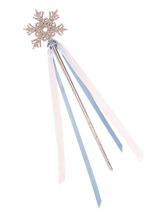 Princess Krystal Snow Queen Snow Flake Wand