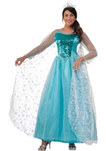 Princess Krystal Woman Snow Queen Costume