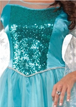 Princess Krystal Woman Snow Queen Halloween Costume