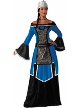 Medieval Queen Royal Woman Deluxe Costume