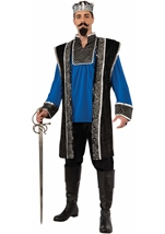 Medieval King Men Royal Costume