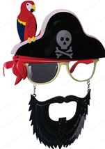Pirate Sunstaches With Beard