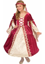 Medieval English Princess Royal Girls Costume