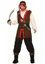 Bucaneer Of The Seas Men Pirate Costume