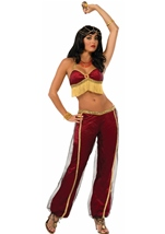 Ruby Arabian Dancer Woman Costume