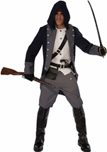 Silent Warrior Men Assasin Costume