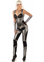 Futuristic Fashion Woman Jumpsuit