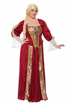 Renaissance Queen Woman Plus Costume