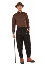 Steampunk Black Pants