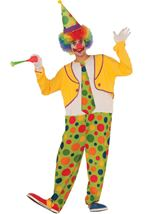 Circus Clown Men Costume