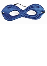 Kids Hero Reversible  Eye Mask  Blue Green