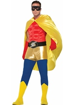 Hero Adult Cape Yellow