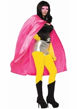 Hero Adult Cape Pink