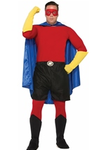 Superman DIY Costume Accessory Red Shirt Adult