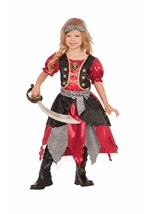 Buccaneer Princess Girls Pirate Costume