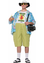 Tropical Tourist Couple Funny Costume
