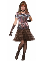 Steampunk Woman 3D Shirt
