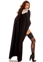 Adult Cape with Faux Fur Collar
