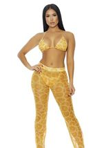 Fiji Mesh Pool Pants Mimosa