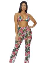 Fiji Mesh Pool Pants Spiked Sandia