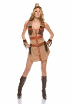 Wrangler Sexy Cowgirl Women Costume