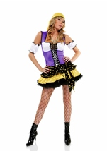 Good Fortune Women Deluxe Gypsy Costume