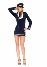 Mile High Maiden Women Navy Officer Deluxe Costume